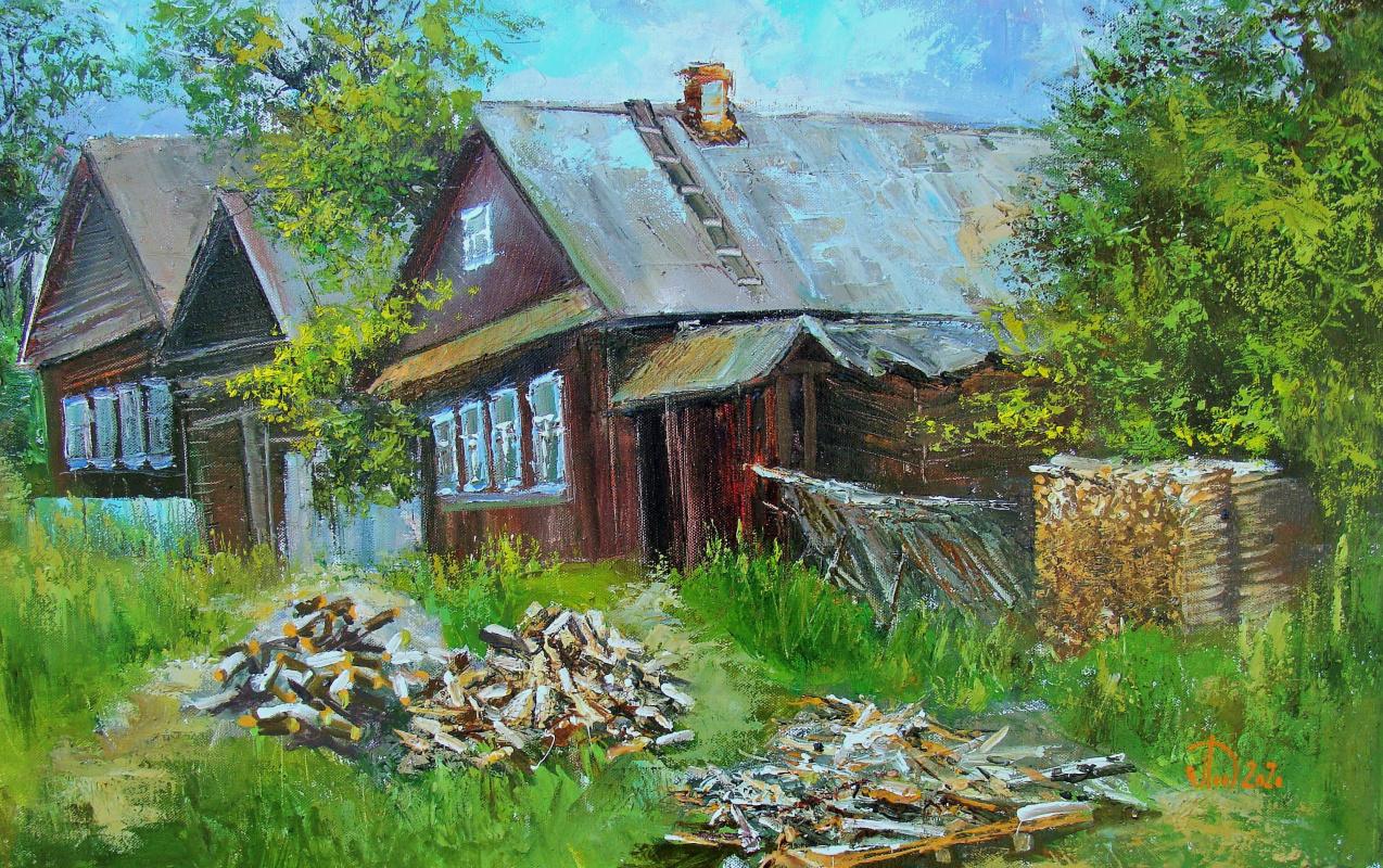 Alexander Alekseevich Lednev. Farm in Staroutkinsk