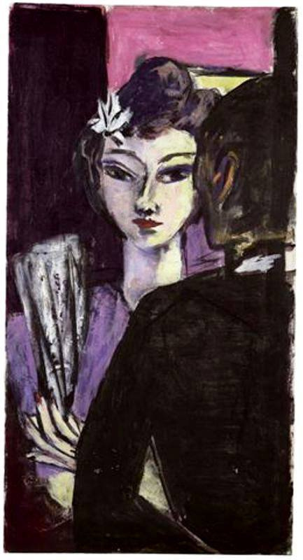 Max Beckmann. Anni (Girl with Fan)