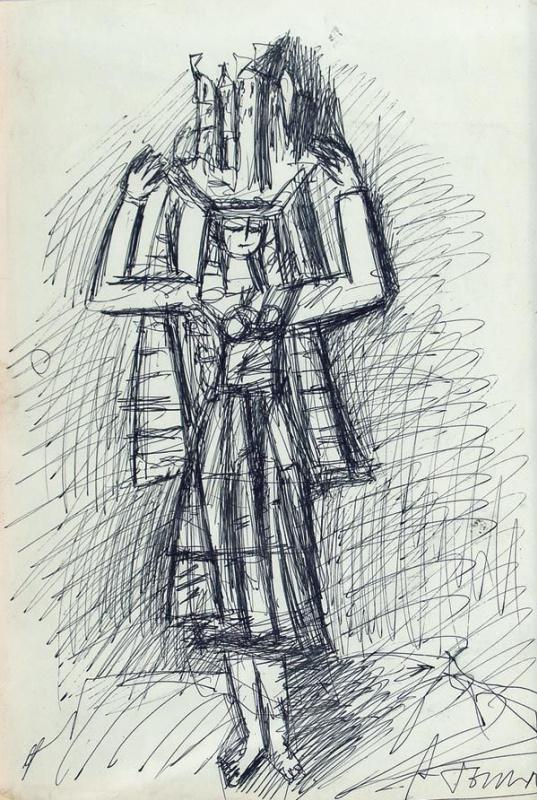 Александр Григорьевич Тышлер. Кариатида