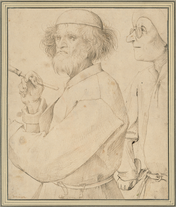 Pieter Bruegel The Elder. The Painter and the Connoisseur