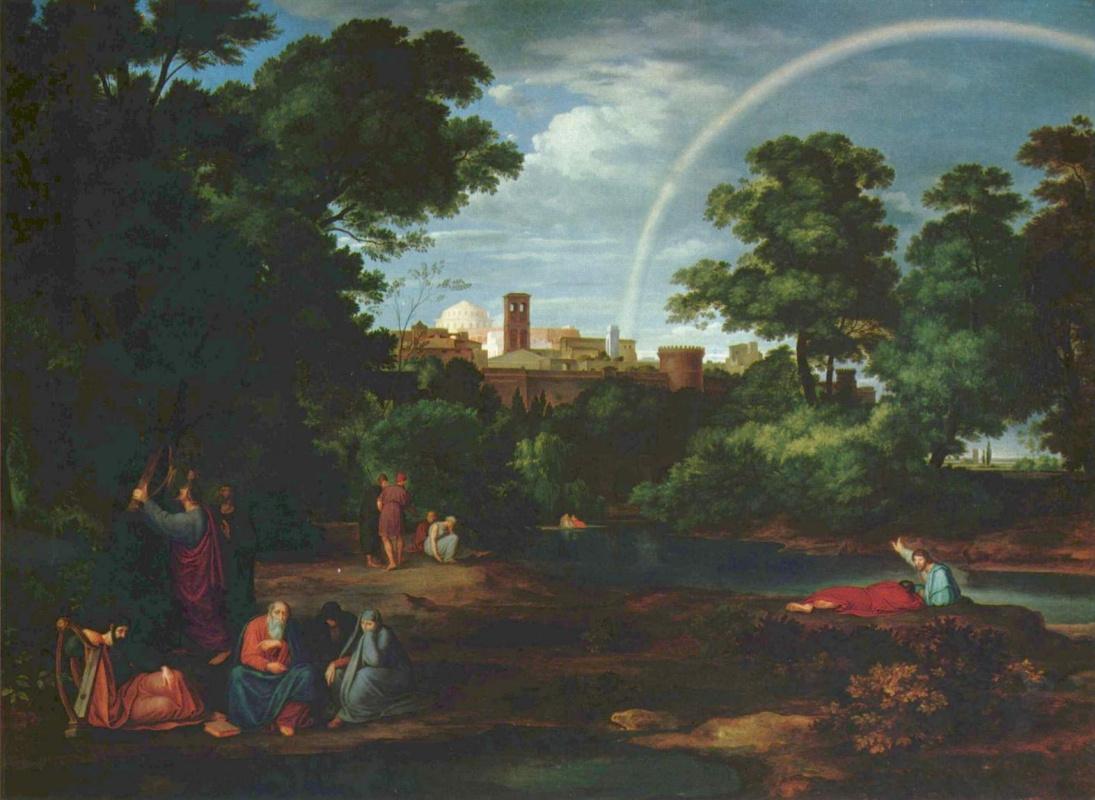 Фердинанд Оливье. Иудеи в Вавилонском пленении