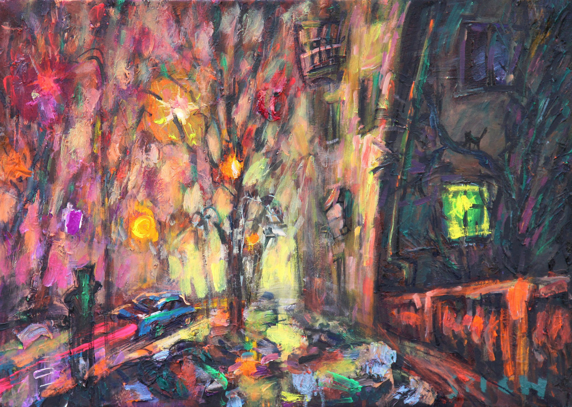 Ilya Pavlovich Spichenkov. Night Hunter