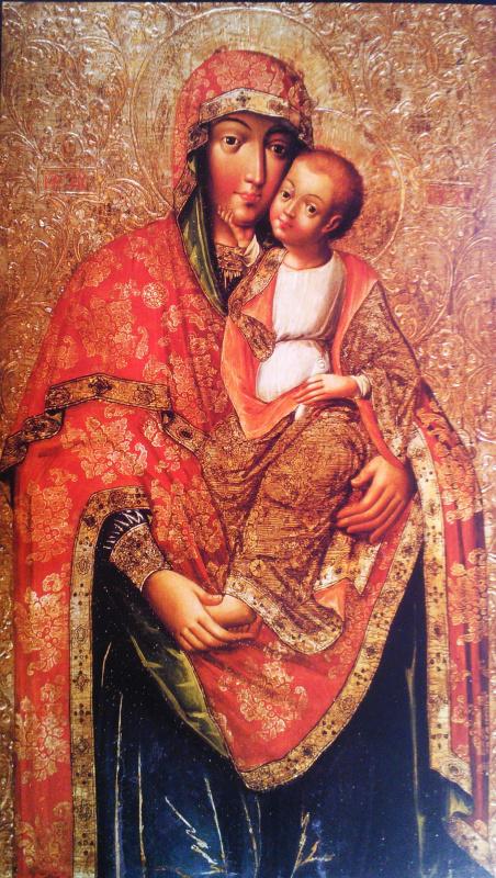 Украинский Иконописец XVIII века. Богородица