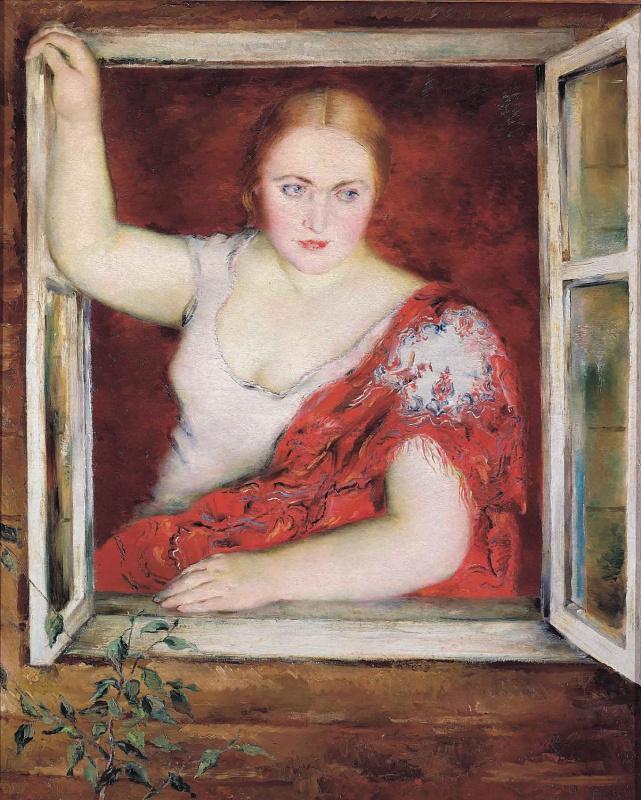 Петр Владимирович Вильямс. Женщина у окна