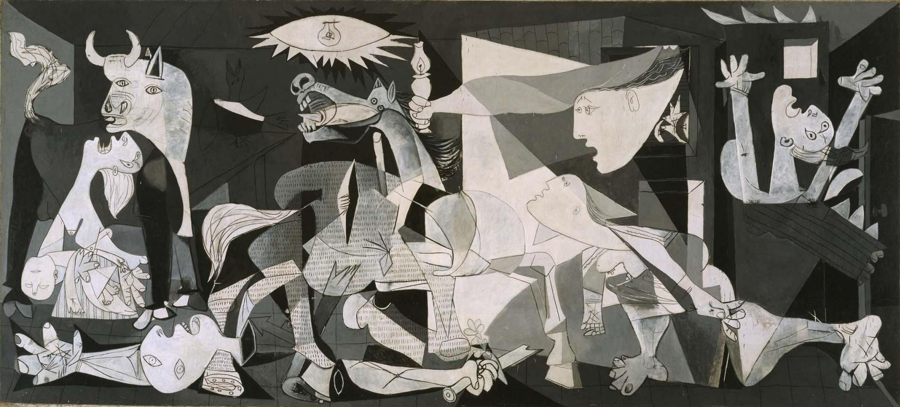 Pablo Picasso. Guernica