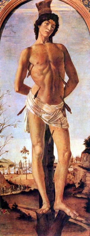 Sandro Botticelli. Saint Sebastian