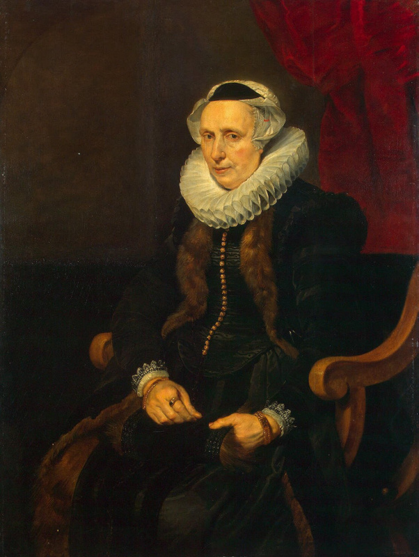 Корнелис де Вос. Портрет пожилой женщины