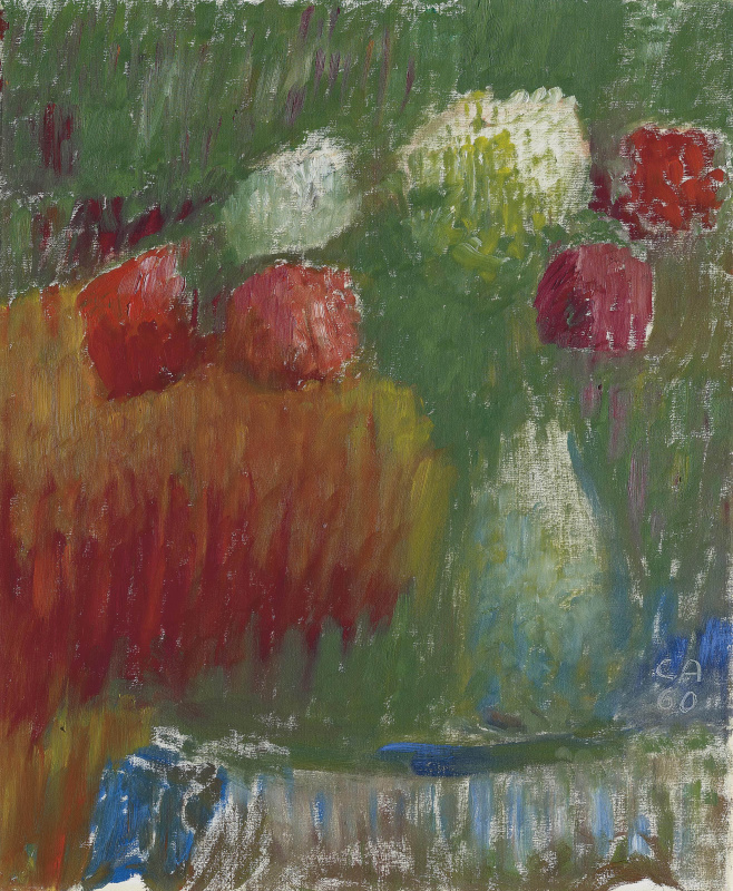 Cuno Amiè. Still life with flowers