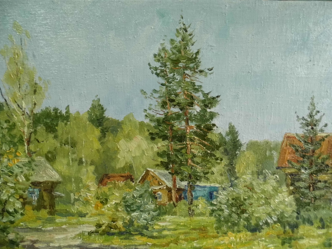 Victor Vladimirovich Kuryanov. In the country