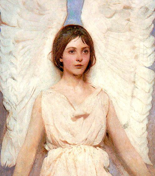Эббот Хэндерсон Тайер. Белые крылья ангела