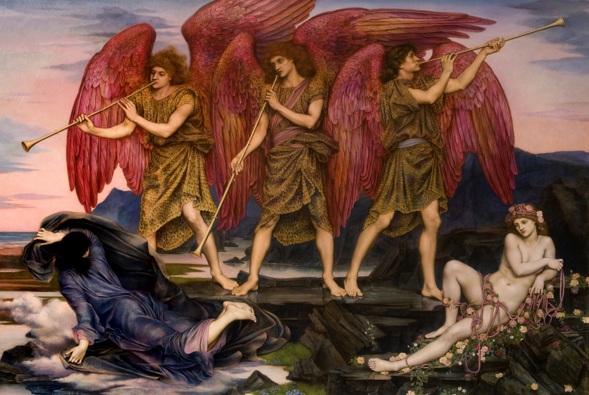 Evelyn De Morgan (Pickering). Aurora Triumphans