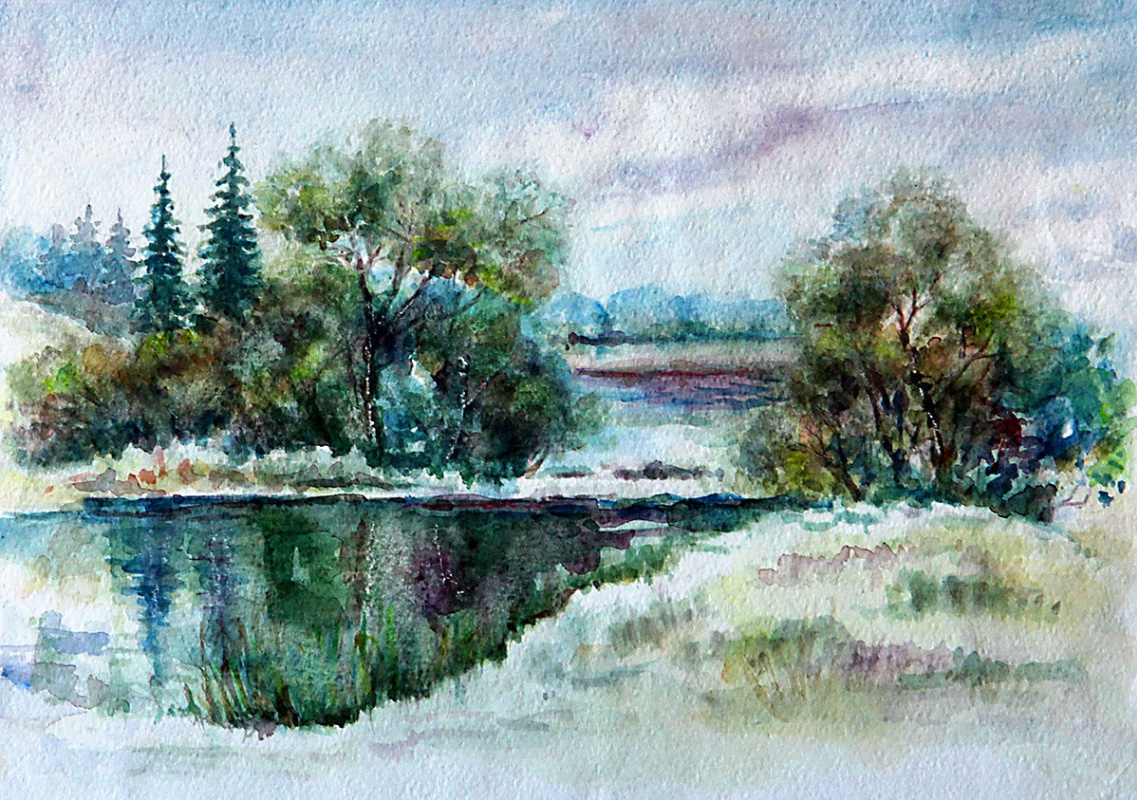 "Alexey Pavlovich Moskalenko. Winter ""Pass"""
