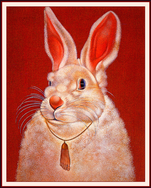 Ге Карбон. Белый кролик