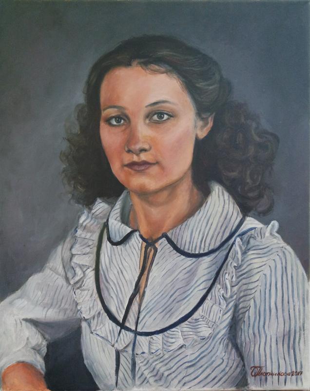 Ольга Александровна Плотникова. Портрет