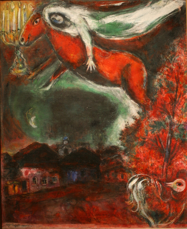 Marc Chagall. Nocturne (Night Scene)