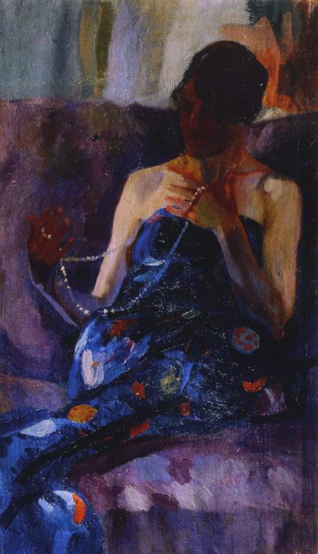 Alexander Murashko. Woman with a pearl