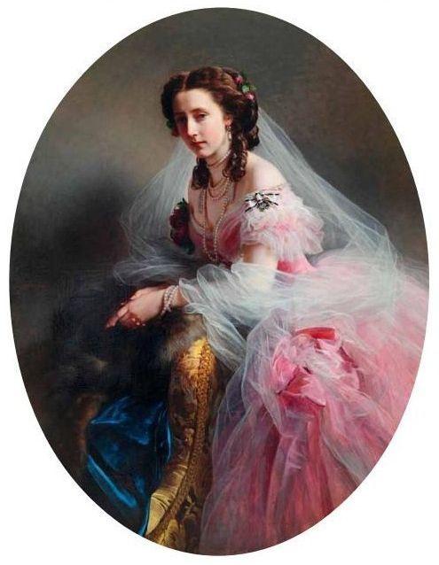 Франц Ксавер Винтерхальтер. Принцесса Анна фон Гессен (Мария Анна Прусская)