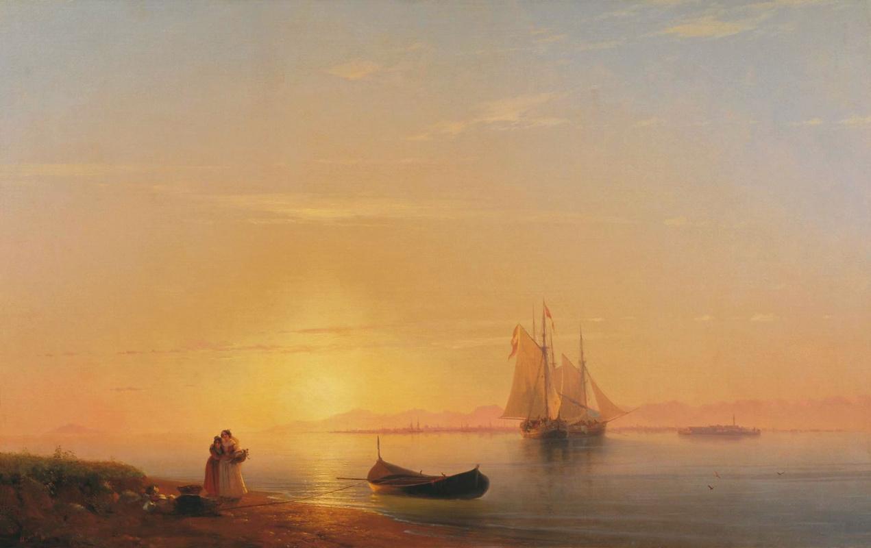 Ivan Constantinovich Aivazovski. The Coast Of Dalmatia