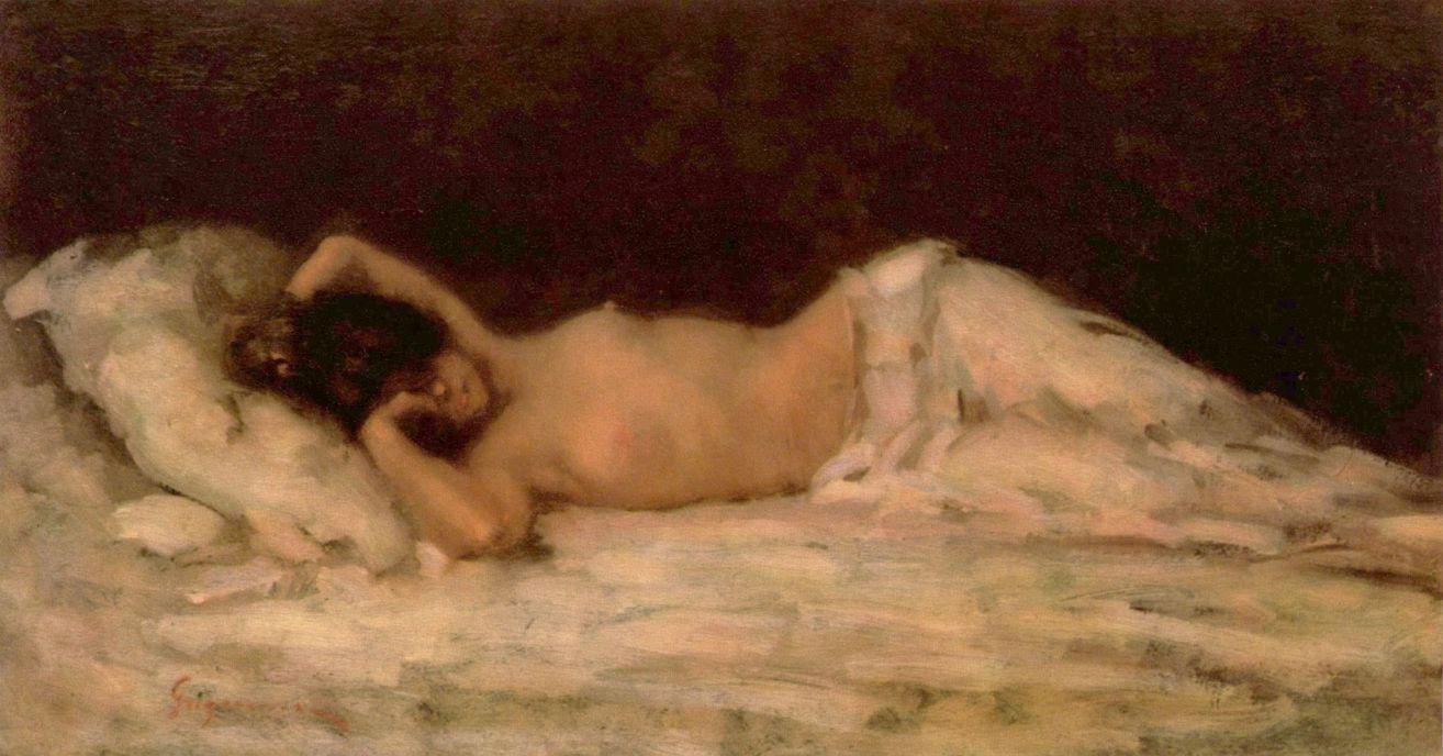 Николае Григореску. Женская фигура
