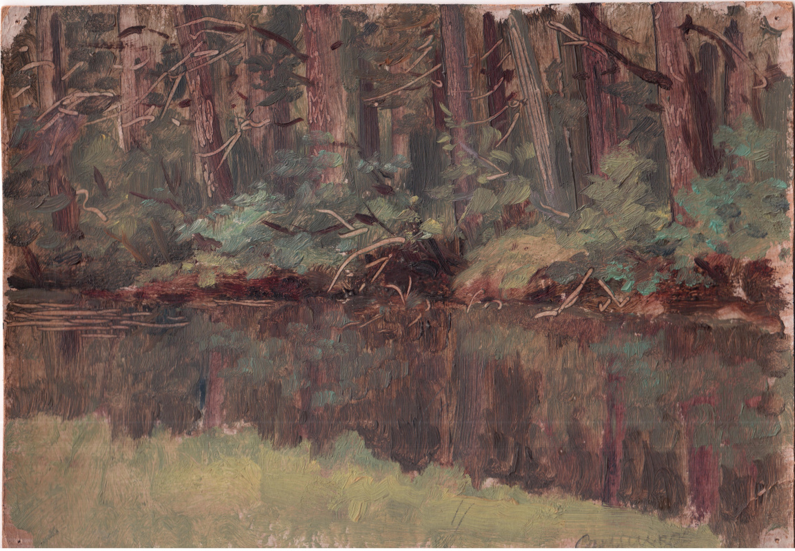 Arkady Pavlovich Laptev. Forest stream