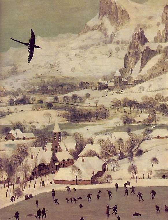 Питер Брейгель Старший. Охотники в снегу