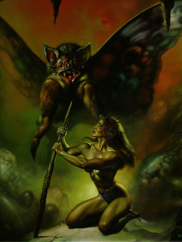 Boris Vallejo (Valeggio). Look
