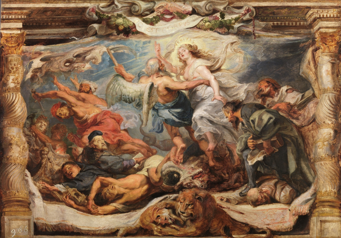 Peter Paul Rubens. The Victory of Truth over Heresy