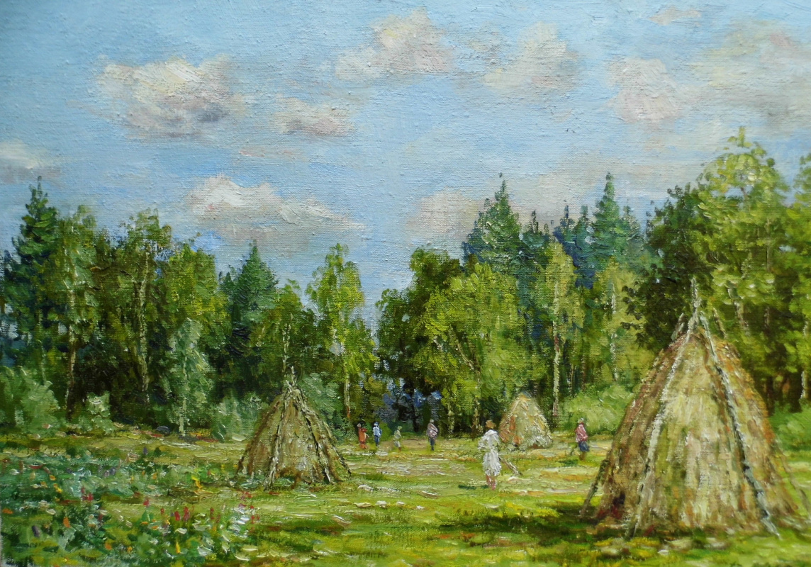 Victor Vladimirovich Kuryanov. Far mowing