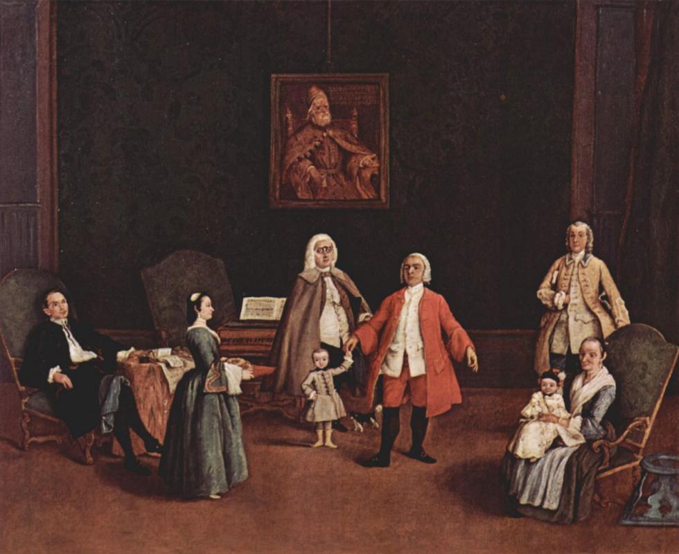 Пьетро Лонги. Портрет венецианской семьи