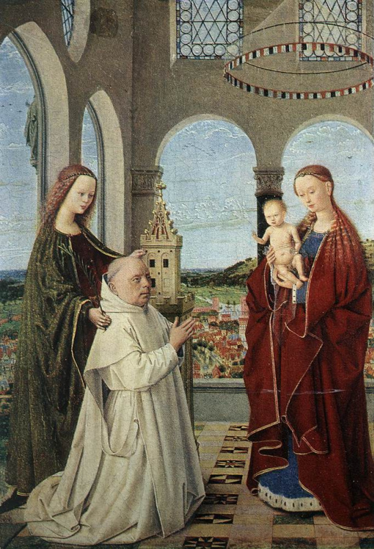 Петрус Кристус. Мадонна с младенцем