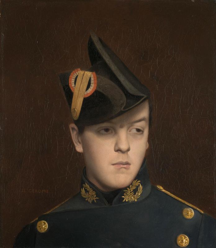 Жан-Леон Жером. Портрет Арманда Жером