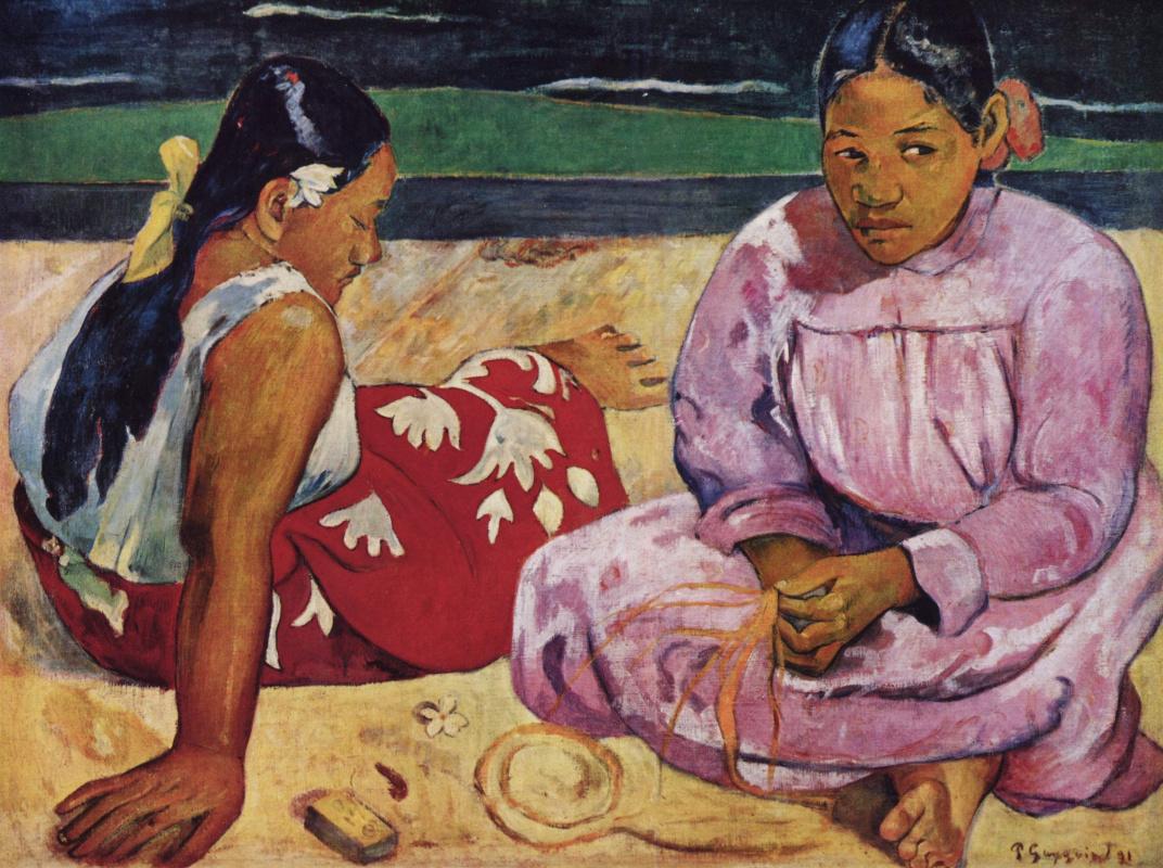 Поль Гоген. Таитянские женщины