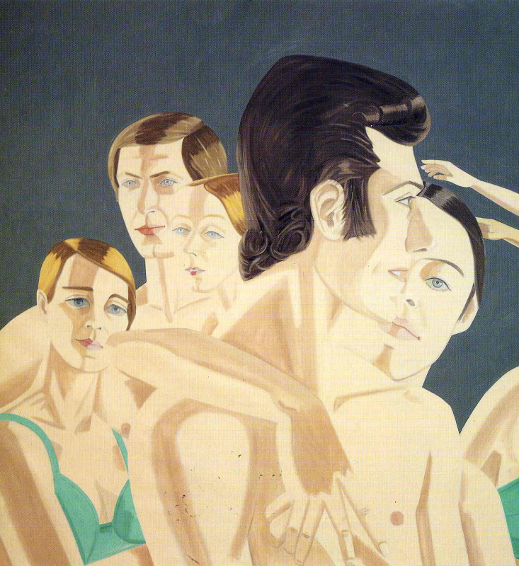 Alex Katz. Swimmers
