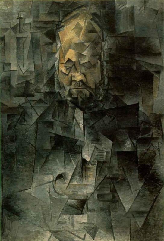 Pablo Picasso. Portrait of Ambroise Vollard
