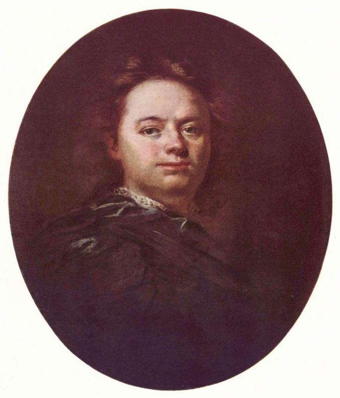 Рейнер Вацлав Вавринек. Автопортрет в овале