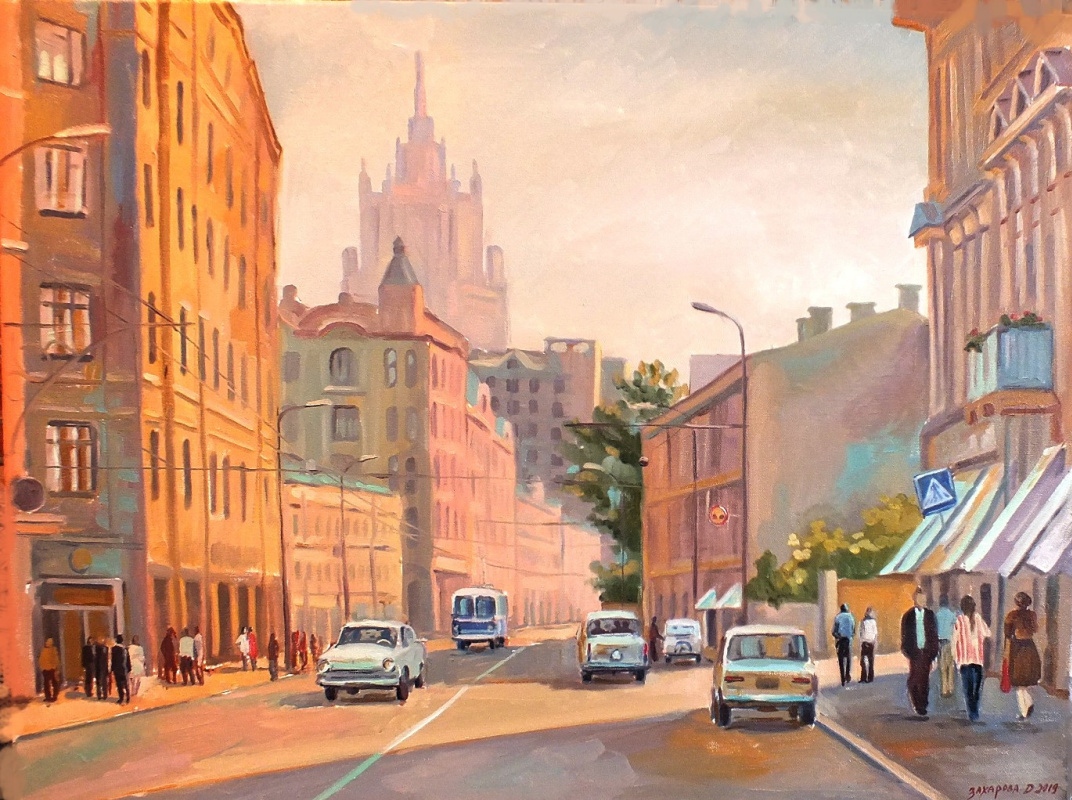 Dariya Zakharova. Bright past