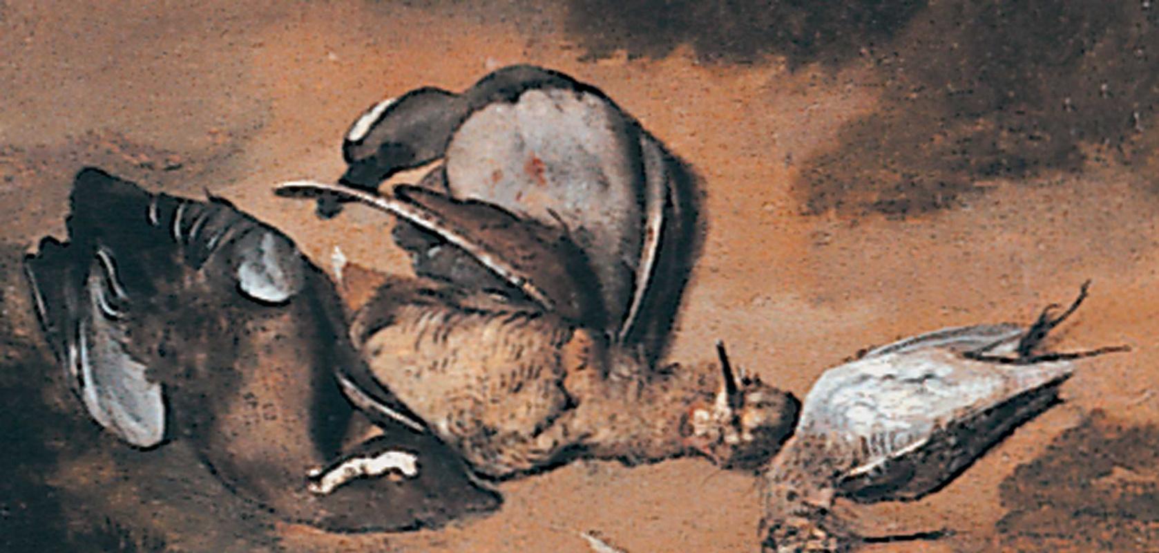 Ян Давидс Мейтенс. Семейный портрет. Фрагмент
