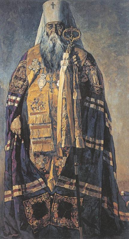 Павел Дмитриевич Корин. Сюжет 2