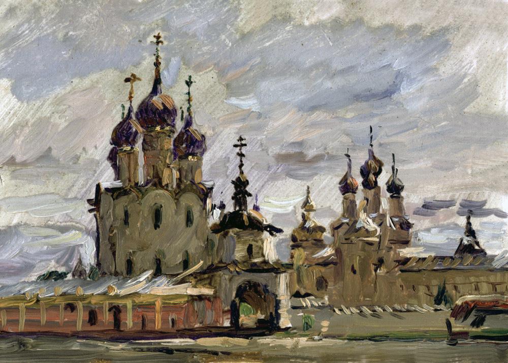 Boris Anatolevich Studentzov. Rostov Kremlin