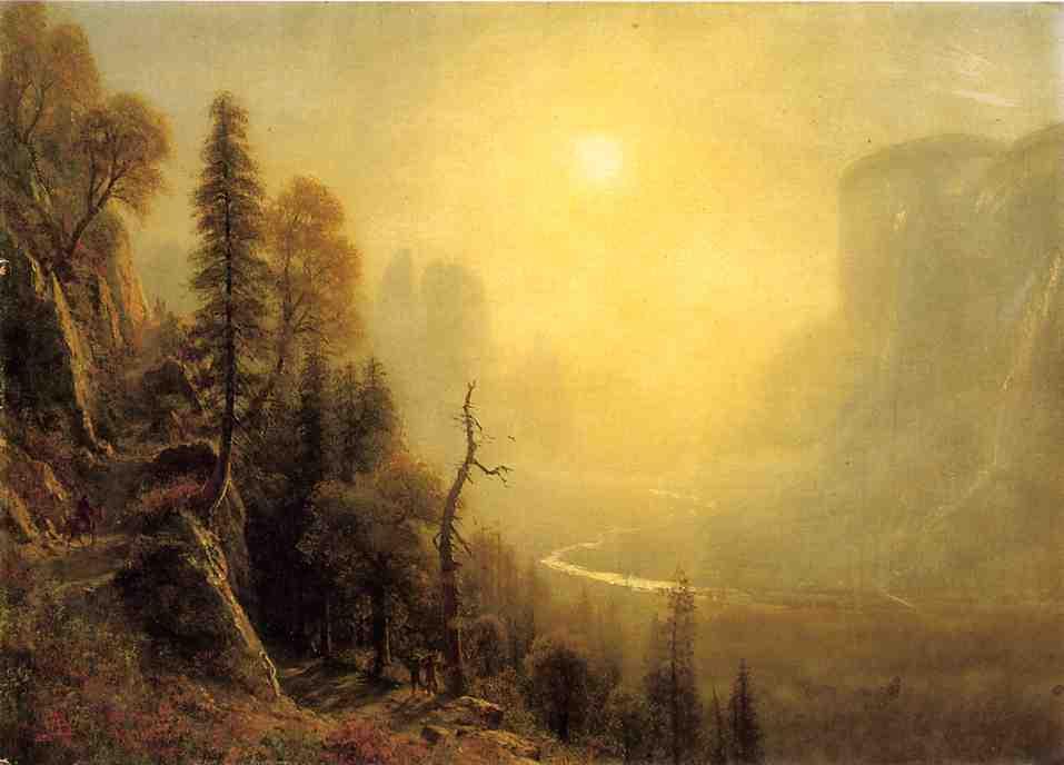 Альберт Бирштадт. Солнце