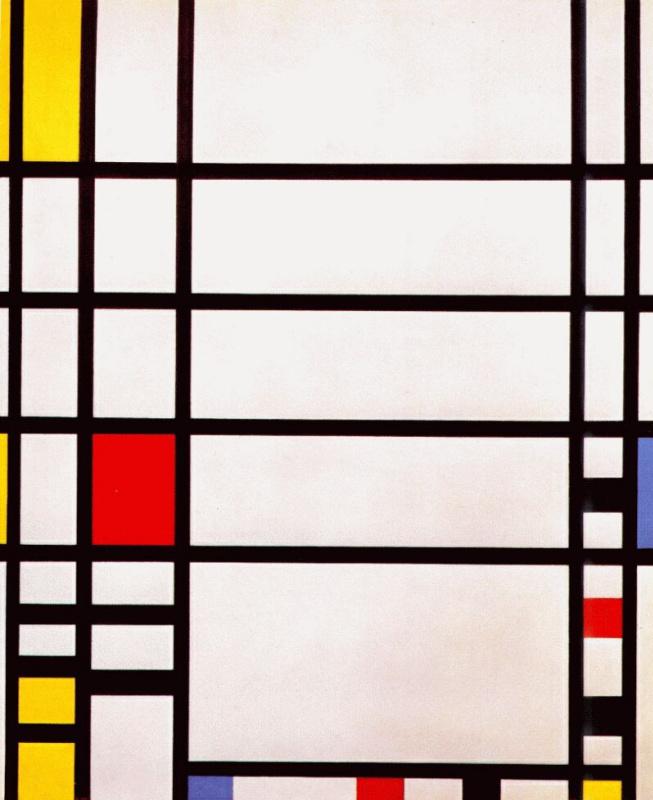 Piet Mondrian. Trafalgar square