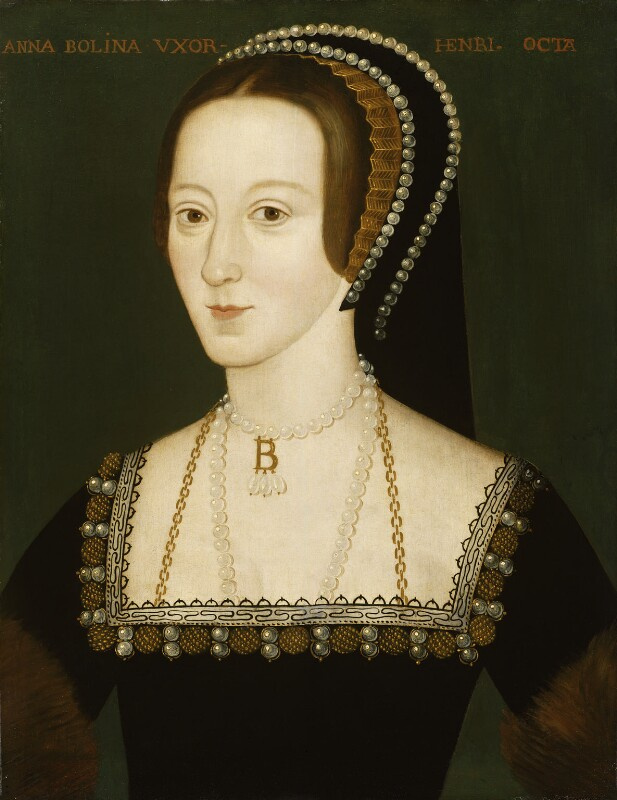 Unknown artist. Anne Boleyn