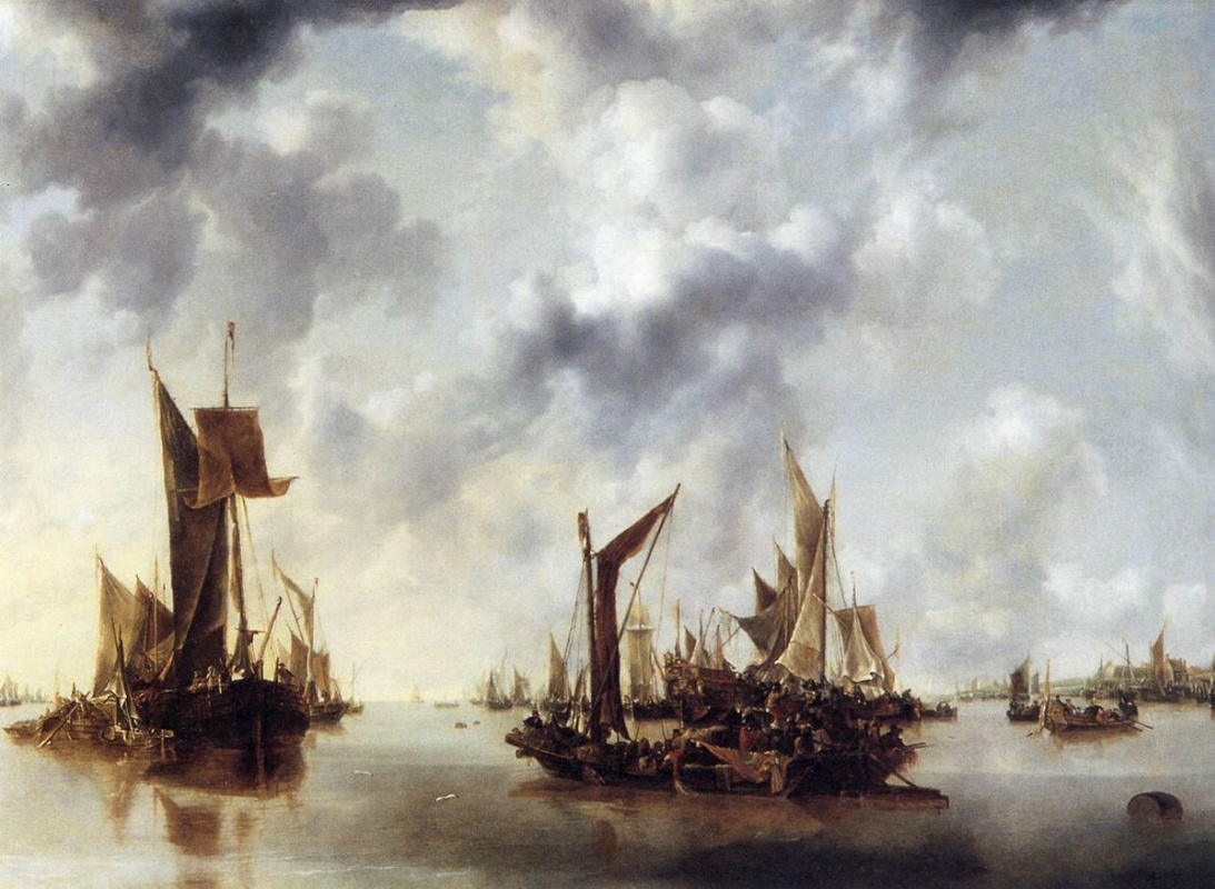 Jan van de Cappelle. A Calm