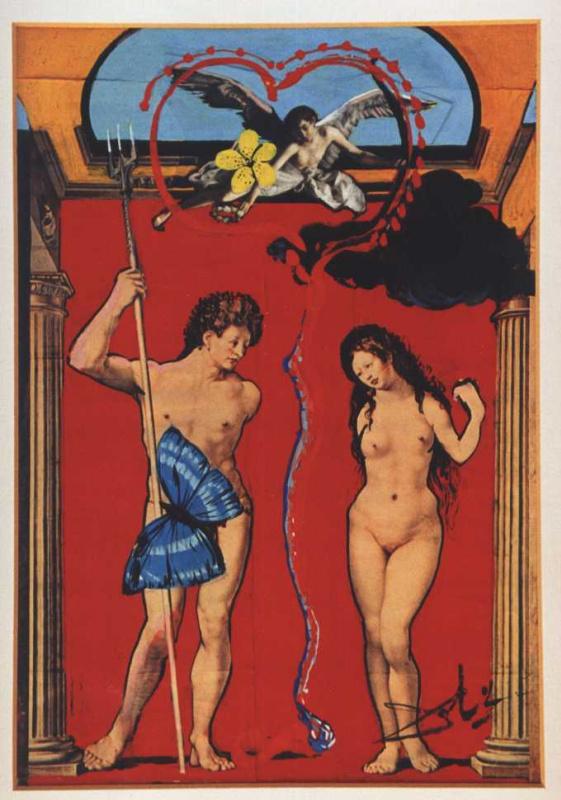 Salvador Dali. The triumph of love