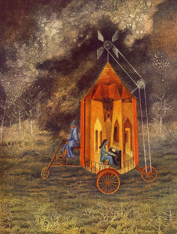 Ремедиос Варо. Дом на колесах