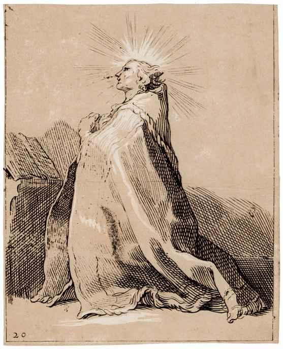 Abraham Bloomart. Kneeling Holy