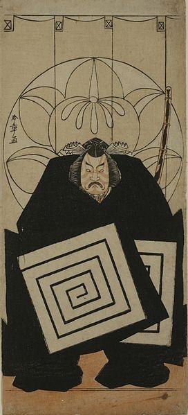 Katsukawa ни один Shunsho. Актер Ичимура Uzaemon