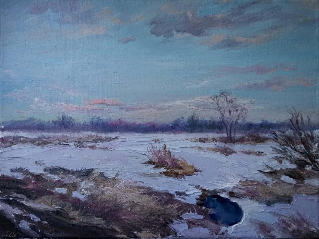Кристина Щекина. Polyushko winter