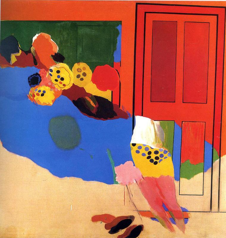 Аллен Джонс. Красная дверь