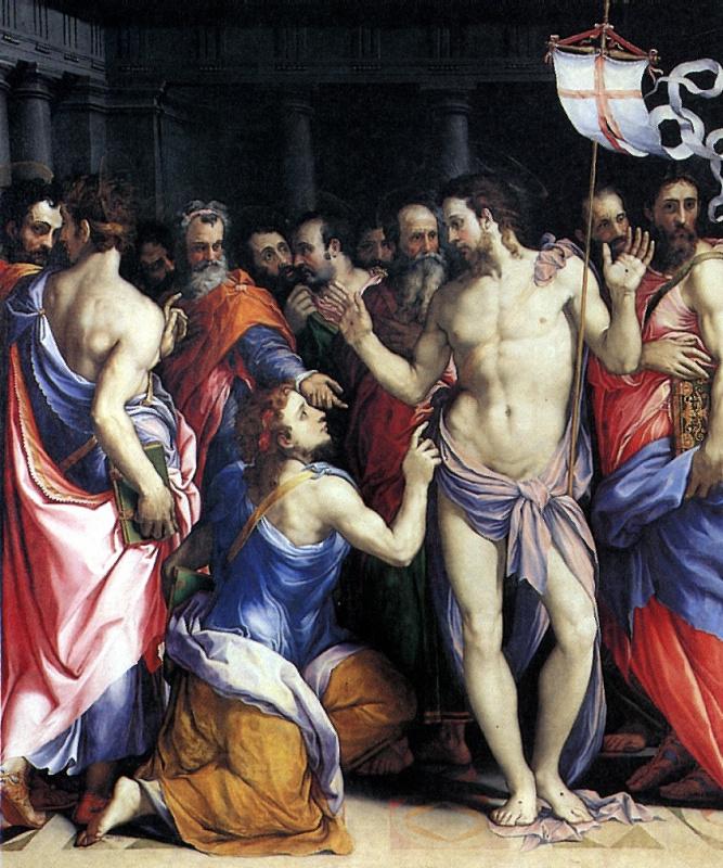 Франческо Де Росси. Уверение Святого Фомы